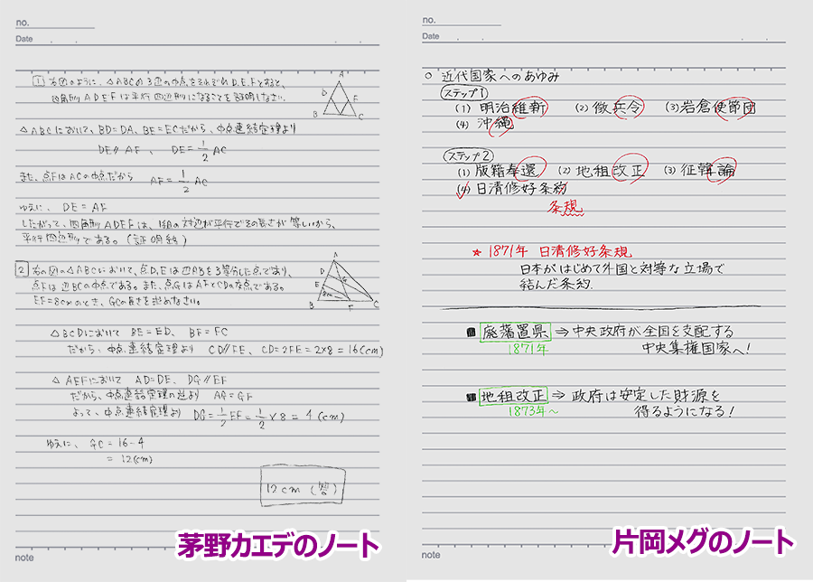 テスト勉強で、茅野さんの数学 ...